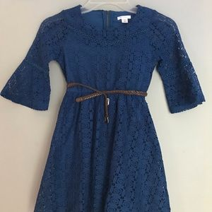 Blue Girl Dress